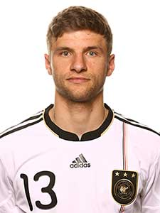 Thomas Muller - Jerman: fifa images