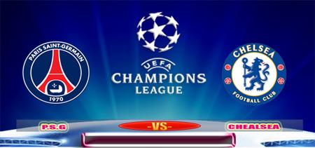 PSG vs Chelsea di Liga Champions