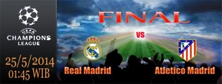 Final Liga Champions di Lisbon 2014