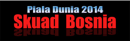Skuat resmi Bosnia di PD Brazil 2014